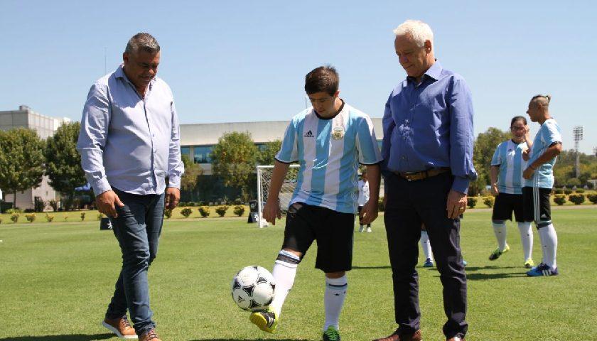 Fútbol inclusivo: se presentó la Selección Argentina