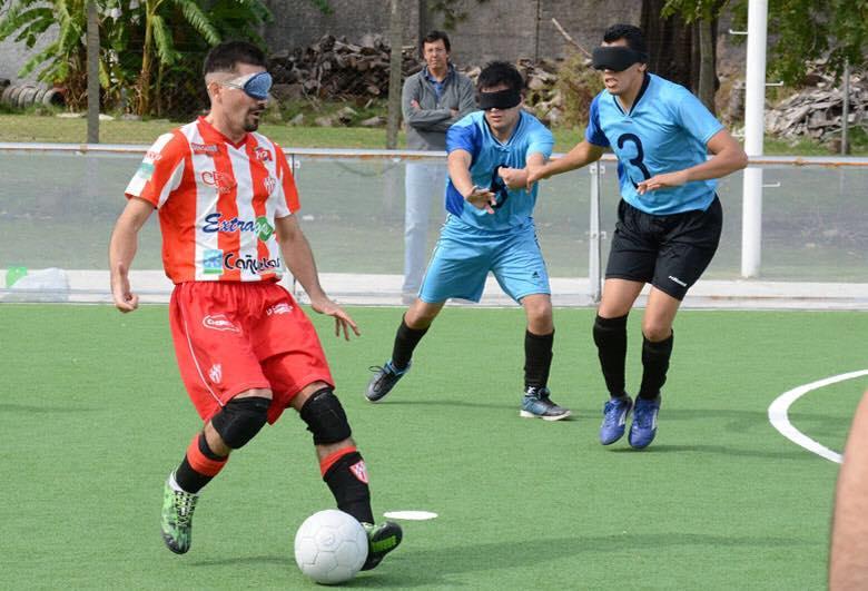 Fútbol para ciegos: definida la Liga Nacional 2018
