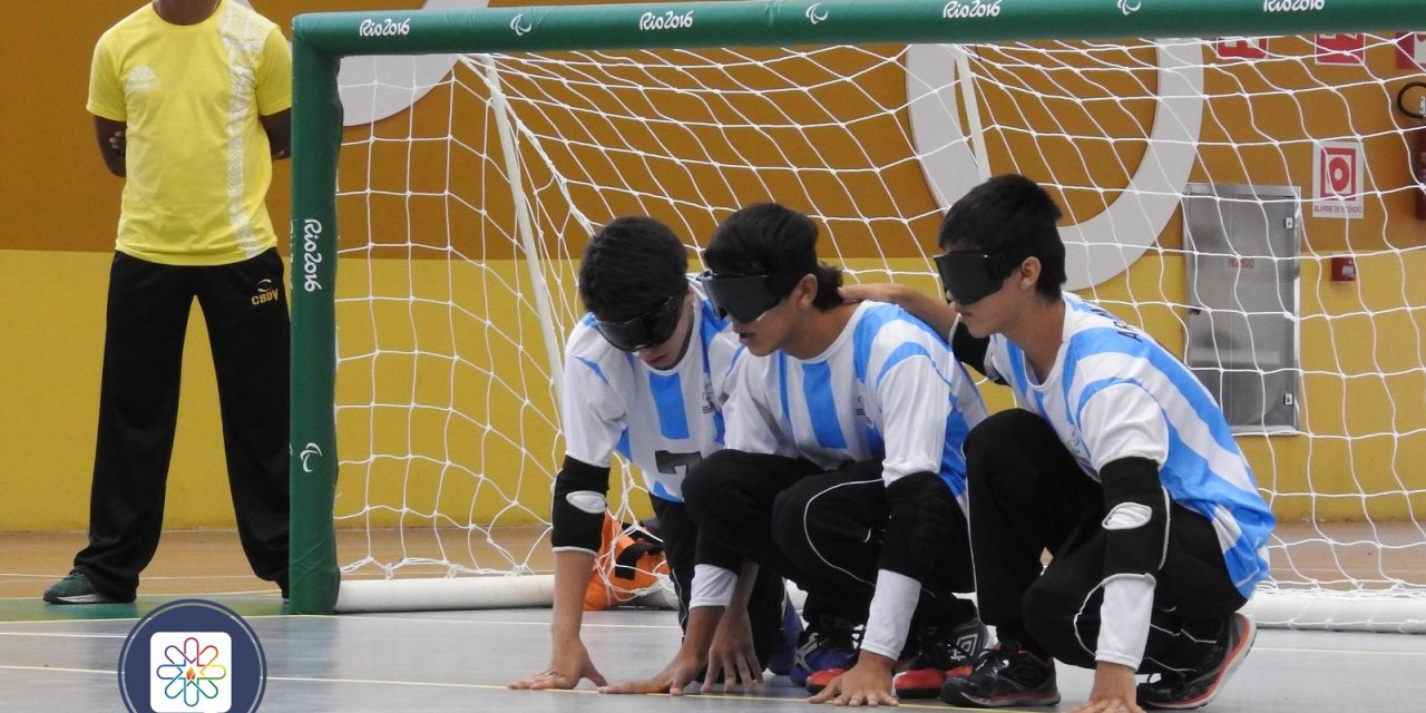 Goalball: Los Topitos en acción