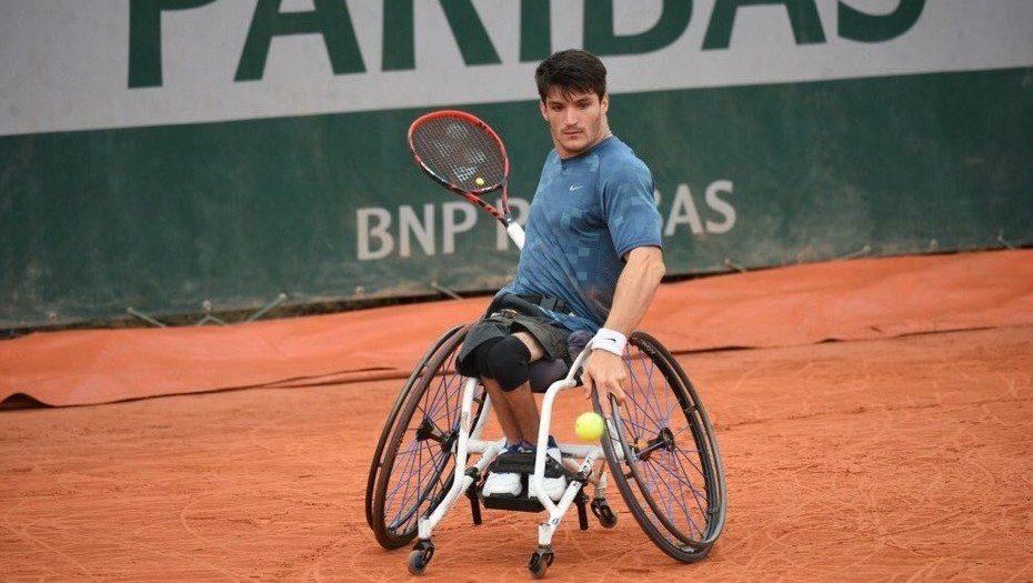 Tenis adaptado: Gustavo Fernández, subcampeón del dobles en Baton Rouge
