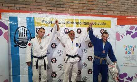 Judo: cuatro podios en el Abierto de la Ciudad