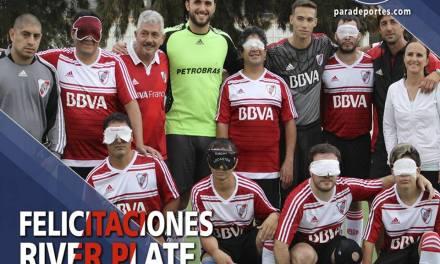 Fútbol para ciegos: mirá la campaña del River campeón