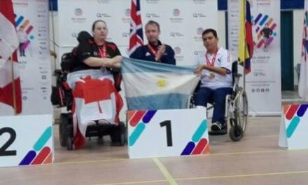 Boccia: conmovedor gesto de un jugador inglés en homenaje a Tadeo Villagra