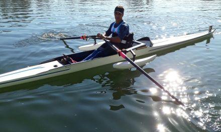 Remo paralímpico: Alejandro Vera, medalla plateada en el Sudamericano