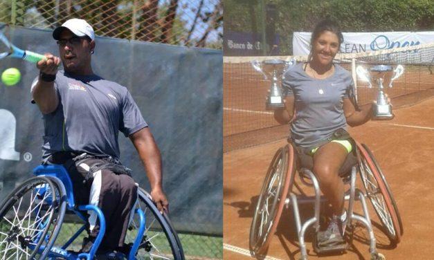 Tenis adaptado: Ledesma y Moreno, campeones en Chile