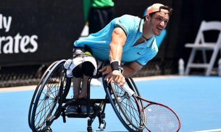 Tenis adaptado: Gustavo Fernández y un buen arranque en Roma