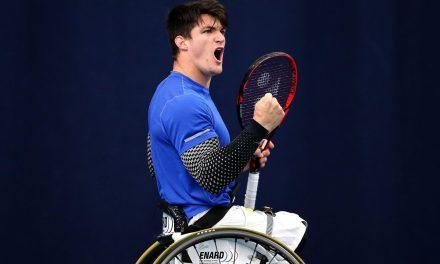 Tenis adaptado: sólido debut para Gustavo Fernández en Japón