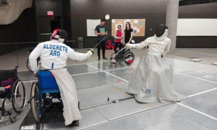 Esgrima paralímpica: dos argentinos, entre los ocho mejores del mundo