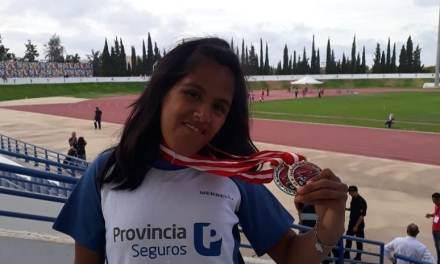 Atletismo: Yanina Martínez, en lo más alto del podio en Túnez