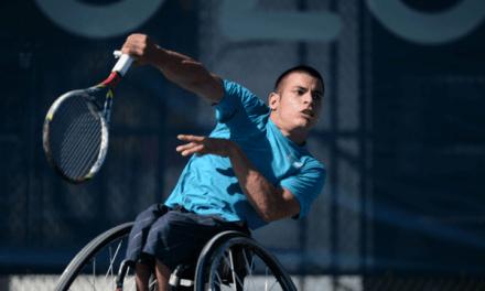 Tenis adaptado: Casco, el otro campeón argentino en Francia