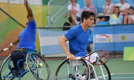 Tenis adaptado: cruce argentino en Francia