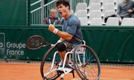 Gustavo Fernández debutó con una victoria en Roland Garros