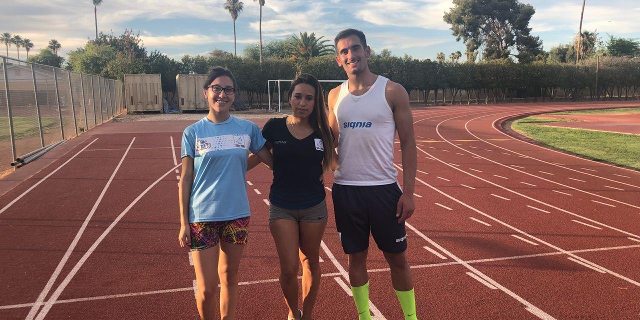 Atletismo: Argentina se prepara en Arizona