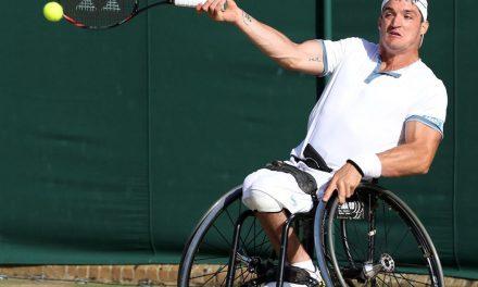 Tenis adaptado: Gustavo Fernández, listo para Wimbledon