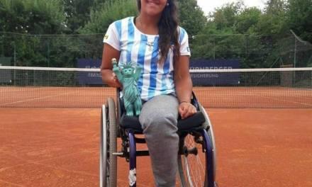 Tenis adaptado: Moreno, campeona en Alemania