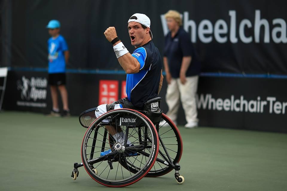 Tenis adaptado: Gustavo Fernández, semifinalista en Bélgica