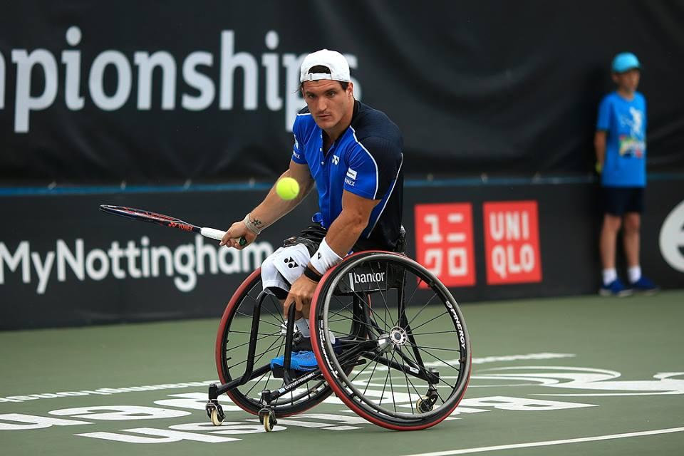 Tenis adaptado: Gustavo Fernández, finalista en Bélgica
