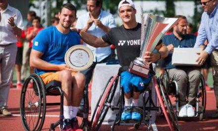 Tenis adaptado: Gustavo Fernández, candidato a atleta paralímpico americano de junio