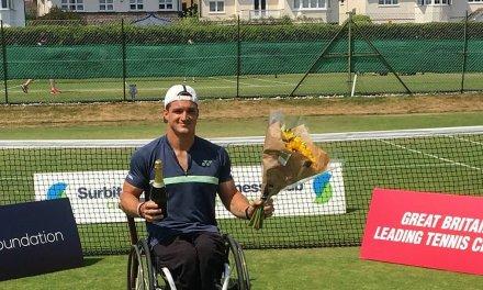 Tenis adaptado: Gustavo Fernández, campeón en Surbiton