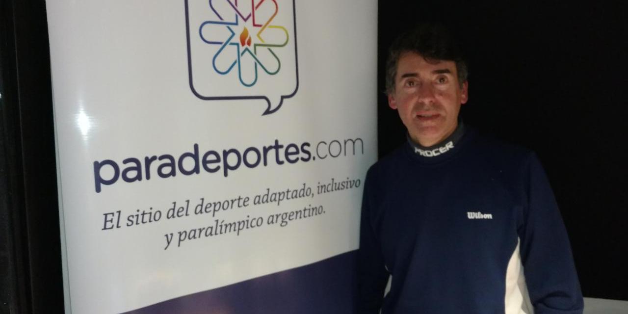 """Eduardo Raffetto en Paradeportes Radio: """"Trabajamos para que el tenis para ciegos sea paralímpico"""""""
