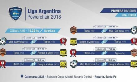 Powerchair football: se viene la segunda fecha de la Liga Nacional