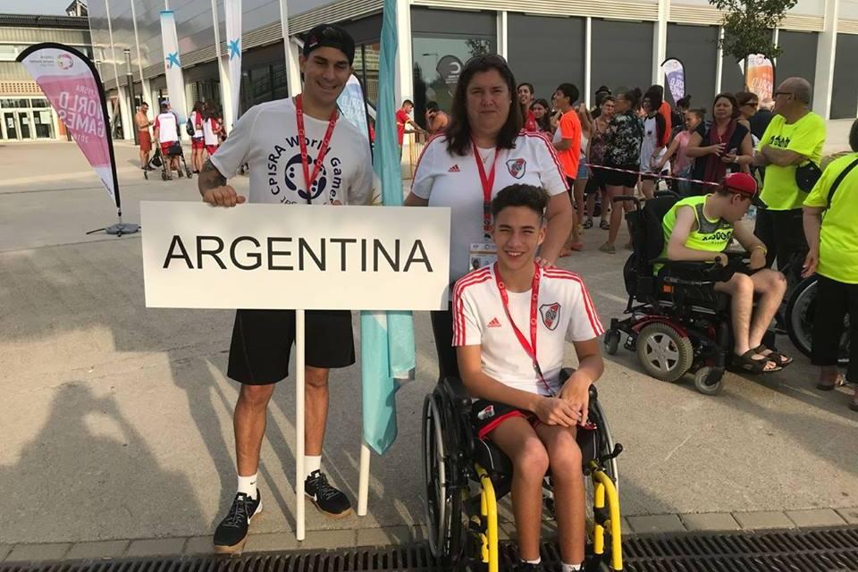 Natación: Nicolás Ricci se presenta en España