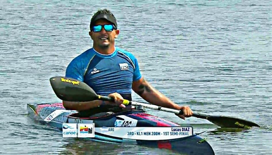 Paracanotaje: Lucas Díaz Aspiroz, en el top ten del Mundial
