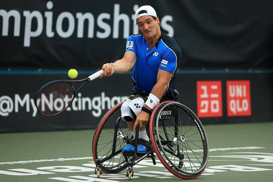 Tenis adaptado: Gustavo Fernández se prepara para el US Open