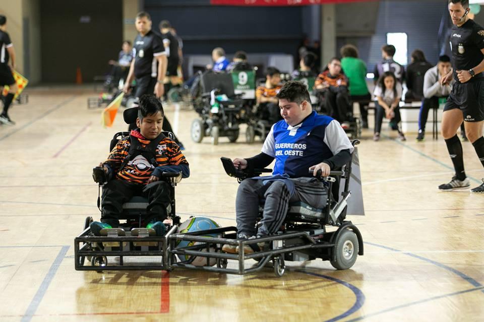 Powerchair football: tres equipos ascendieron a primera división