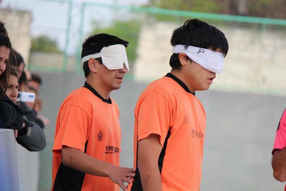 Fútbol para ciegos: se define la Zona Centro