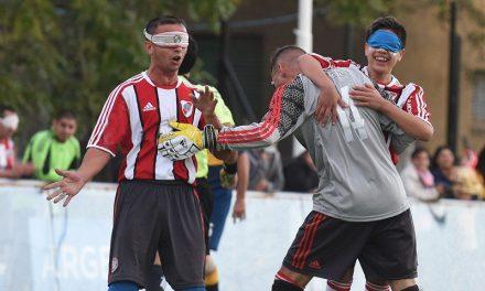 Fútbol para ciegos: se define la Zona Sur B