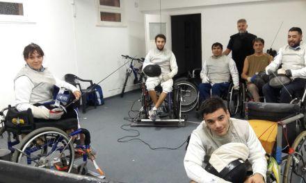 Esgrima paralímpica: la Selección se prepara para el Panamericano de Canadá