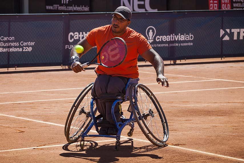 Tenis adaptado: Ledesma avanza en Canadá
