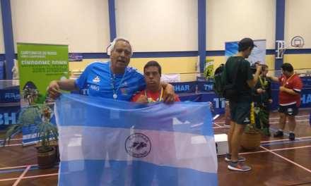 Tenis de mesa para personas con síndrome de down: ¡Juan Pablo Castet, campeón del mundo!