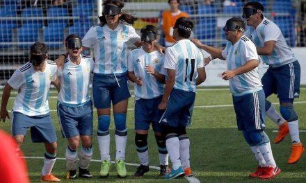 Fútbol para ciegos: Los Murciélagos harán una exhibición en Entre Ríos
