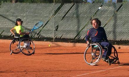 Tenis adaptado: todo el dobles juniors del Cañuelas Open 2018