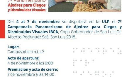 Se viene el Campeonato Panamericano de ajedrez para ciegos