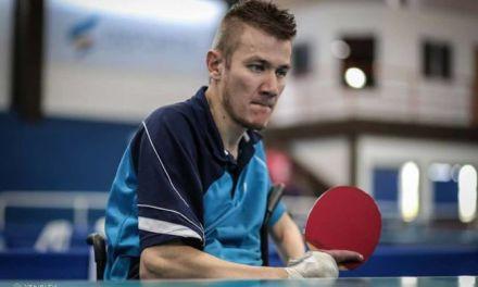 Tenis de mesa adaptado: Eberhardt, semifinalista en el Mundial de Eslovenia