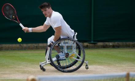 Tenis adaptado: Gustavo Fernández, subcampeón en Bath