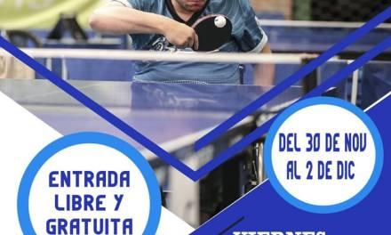 Tenis de mesa adaptado: arranca la Copa Tango en el CENARD