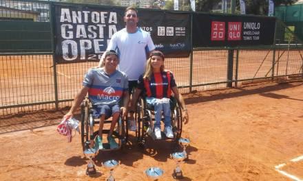 Tenis adaptado: Casco y Dhers, campeones en Chile