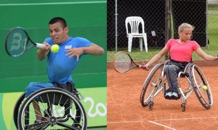 Tenis adaptado: Casco y Dhers, sólidos en Chile