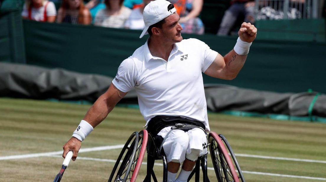 Tenis adaptado: Gustavo Fernández debutó con triunfo en el Masters de dobles