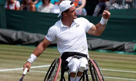 Tenis adaptado: Gustavo Fernández regresó con un triunfo