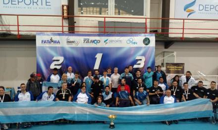 Tenis de mesa adaptado: Argentina, campeón de la Copa Tango