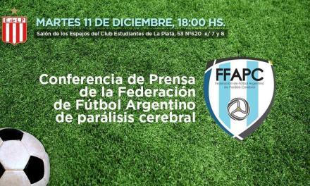 Fútbol 7: conferencia de presentación de la Federación