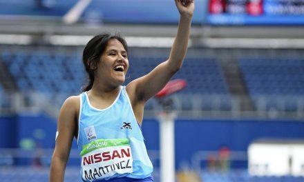 Atletismo paralímpico: Yanina Martínez cierra el año como número uno del mundo