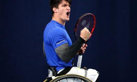 Tenis adaptado: Gustavo Fernández, semifinalista en Australia