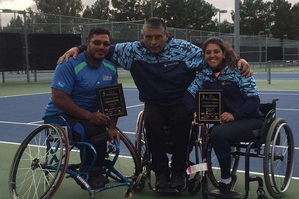 Tenis adaptado: Ledesma y Moreno, campeones en Arizona