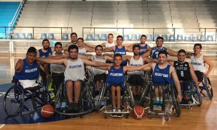 Básquet adaptado: La Pampa recibió a los juveniles